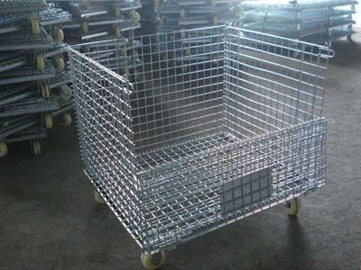 脚轮仓储笼